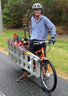 handyman cyclist