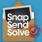 Snap send solve logo