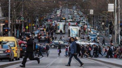 collins st congestion