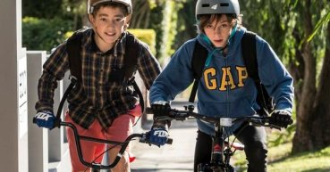 teens riding