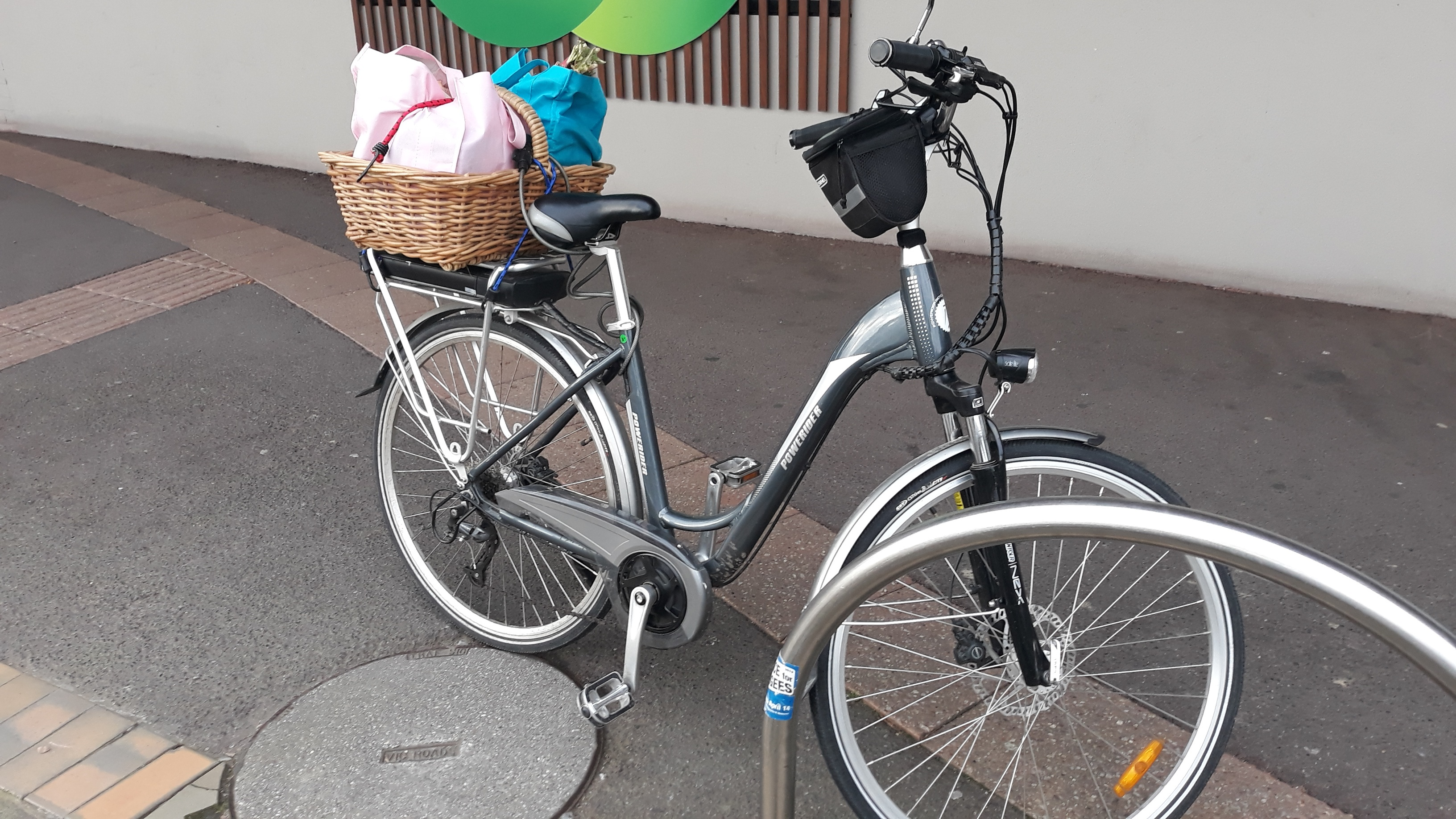 shopping bike